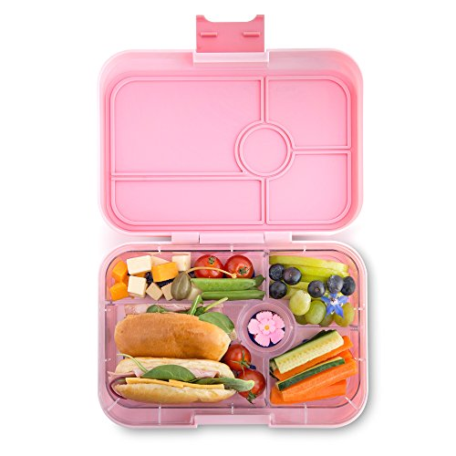 yumbox tapas larger size amalfi pink leakproof bento lunch box for adults teens pre teens. Black Bedroom Furniture Sets. Home Design Ideas