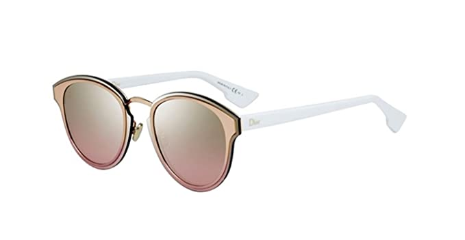 495479a39 Image Unavailable. Image not available for. Color: New Christian Dior  Nightfall 24S/WO Gold White/Gold Pink Sunglasses