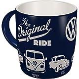 Nostalgic-Art 43043 Volkswagen - VW Bulli, Beetle & Golf - The Original Ride, Tasse