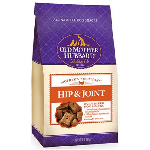 Biscuits Glucosamine Dog (Old Mother Hubbard Mother's Solutions Hip & Joint Crunchy Natural Dog Treats, 20-Ounce Bag)