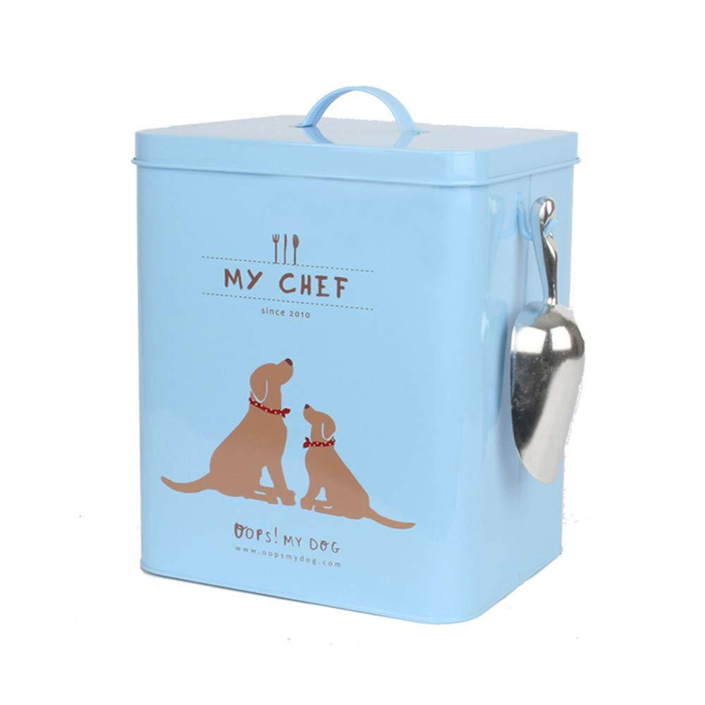 Dog Food Storage Container Pet Dry Food Snack Container Included Scoop