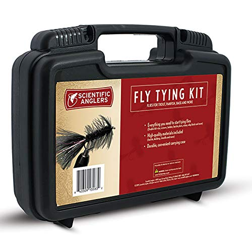 Scientific Anglers Deluxe Fly Tying Kit with Vise