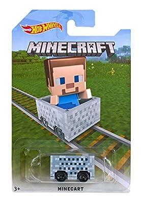 Hot Wheels Minecraft Diecast Vehicles (Party Supplies) from HW Minecraft