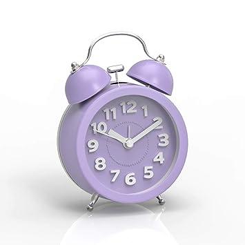 Amazon.com: Mini reloj despertador clásico de 3 ...