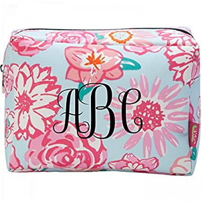 13e80526cda7 85%OFF Custom Monogram Makeup Bag  Patterned Cosmetic Makeup Bag ...