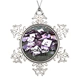 Little devil Scale Change Large Christmas Tree Decorations Monogrammed Christmas Snowflake Ornaments