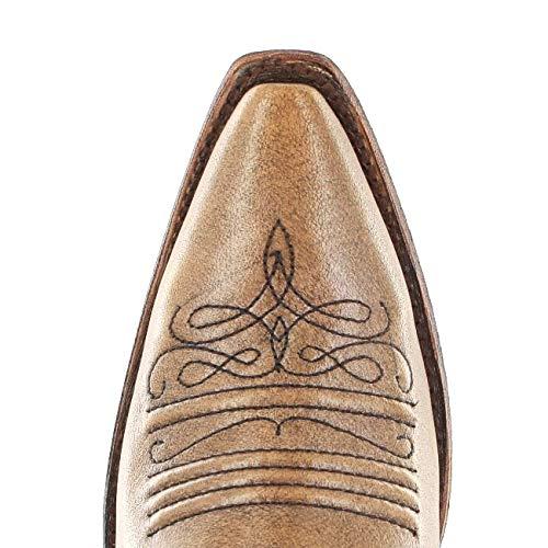 Western FB Fashion Stivali Boots Donna Marrone Fx1qRt