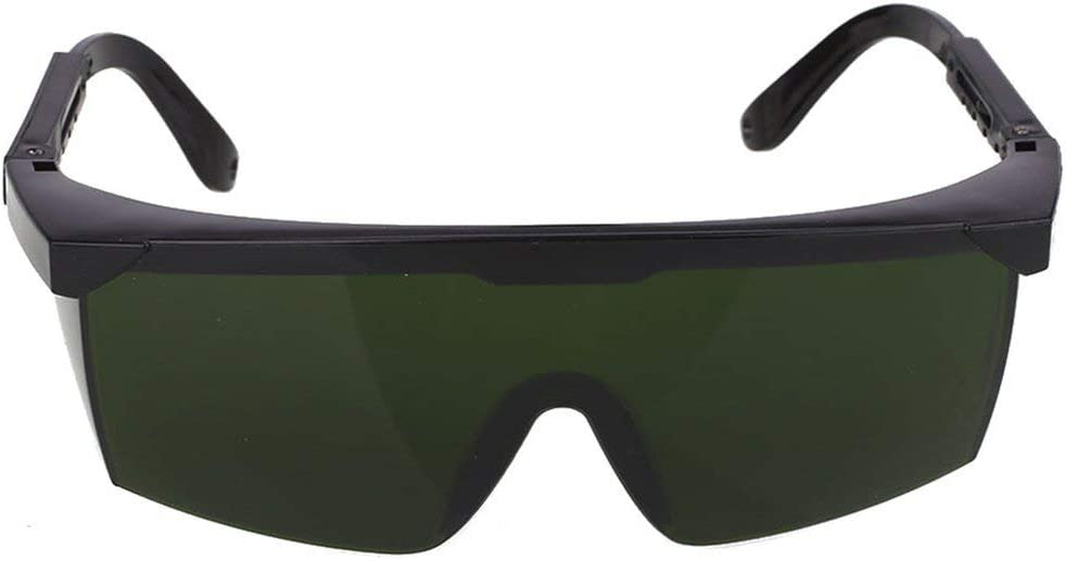Verde Oscuro Gafas de Seguridad l/áser Protecci/ón Ocular para IPL//E-Light Depilaci/ón Gafas Protectoras de Seguridad Gafas universales Gafas