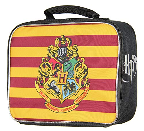 Harry Potter Maze Game - Harry Potter Hogwarts Crest Insulated Lunch Box Tote Bag