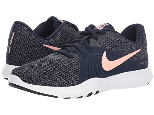 Chaussures 8 W Nike storm Compétition Femme gridiron Flex Trainer obsidian De Pink Multicolore Running 402 FtItUq