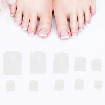 Amazon.com: Jadeshay - Lote de 500 uñas postizas para dedos ...