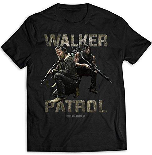 The Walking Dead Rick Grimes Daryl Dixon offiziell Männer T-Shirt Herren
