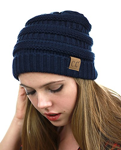NYFASHION101-LED-Hands-Free-Light-Winter-Cable-Knit-Cuff-Beanie-Hat