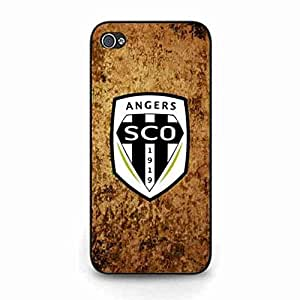 Fantastic Design Funda Cover Snap On IPhone 5c,Charming Funda Customized Angers Sporting Club De L'Ouest FC Logo