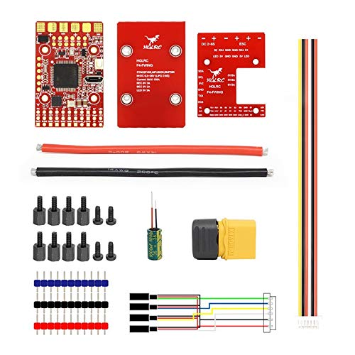 Wikiwand HGLRC F4 Wing Flight Controller FC for Fixed-Wing Racing Drone 2S -6S 8S Lipo by Wikiwand (Image #8)