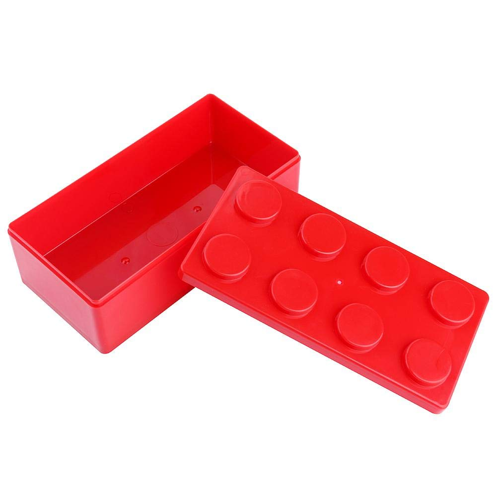Potelin Plastic Round Round 8 Grid Storage Box Storage Case for Guitar Pick