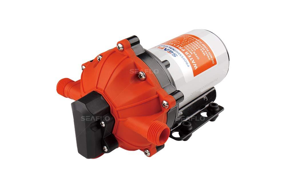 SeaFlo High Pressure Marine Water Pump 12 V DC 60 PSI 5.0 GPM on demand
