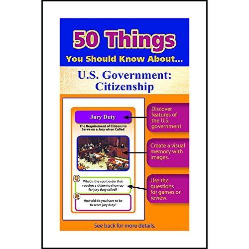 50 Things You Should Know about Us Government: Citizenship