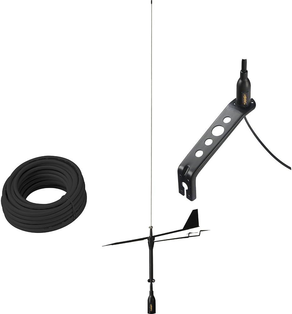 Glomex Antena VHF Black Swan: Amazon.es: Deportes y aire libre