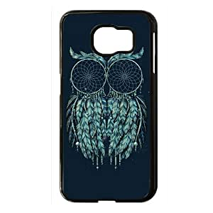 The Owl Black Phone Case for Samsung S6