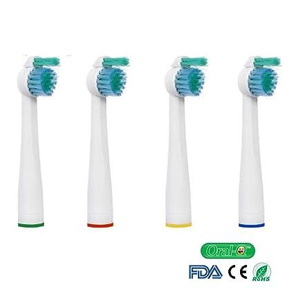 oral-q cabezales de cepillo de dientes de repuesto para PHILIPS Sensiflex HX2014/hx1600