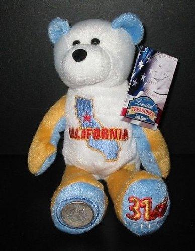 Limited Treasure California Quarter Bear