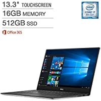 Dell XPS 13 Touchscreen Laptop - Intel Core i7 - QHD+ (3200 x 1800) (Certified Refurbished)