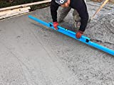 OX Tools Concrete Screed/Darby Combo with Vial