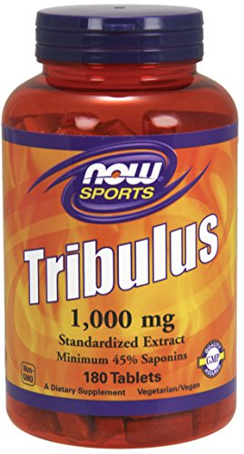 NOW Sports Tribulus 1000 mg,180 Tablets