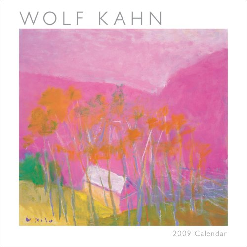 Wolf Kahn 2009 Mini Wall Calendar (Calendar 2009 Mini Wall)