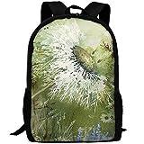 Best OXA Laptop Backpacks - Adult Travel Hiking Laptop Backpack Dandelion Art School Review