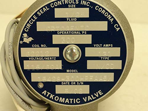 Circle Seal Controls 15428-300HPFAA5W Atkomatic Valve 1/2FNPT