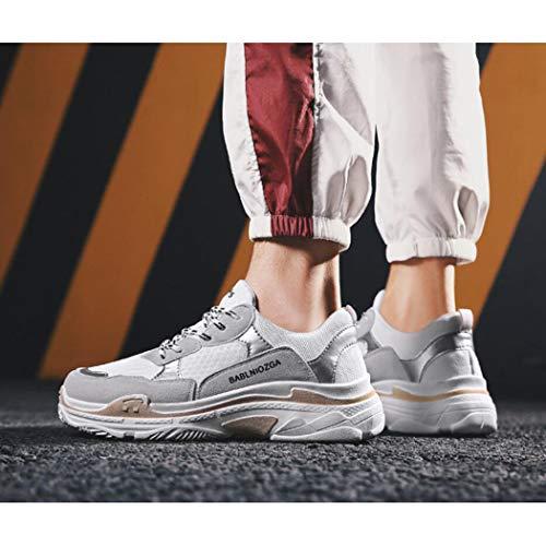 a Chaussures Jeunesse Zixuap Épais Hommes Running Hiver soled Confortable 40 Hommes Vieilles Casual Mode Et Tendance Automne Sauvage rw44qY0a
