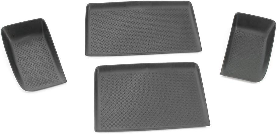 Einlagen Für Ablagefach Mitte Oben Armaturenbrett Gummi Schwarz Auto