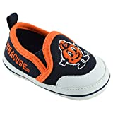 College Edition NCAA (Team) Premium Baby Soft Sole Comfortable Shoe featuring Easy on and off tab, Navy,X-Large = 9-12 Months