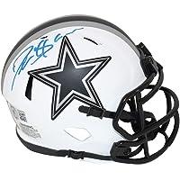 $149 » Deion Sanders Autographed/Signed Dallas Cowboys Lunar Mini Helmet BAS