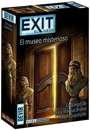 Devir- Exit 10, El Museo Misterioso (BGEXIT10): Amazon.es ...