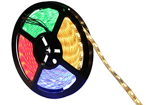 Embedded Ribbon (INVOLT Super Bright 5050 SMD 24V RGBWW 5m 300LEDs Flexible RGBW Tape Ribbon Lamp RGB Warm White)