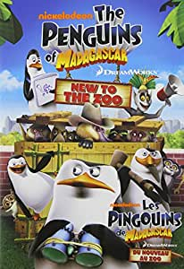 Penguins of Madagascar: New to the Zoo (Bilingual)