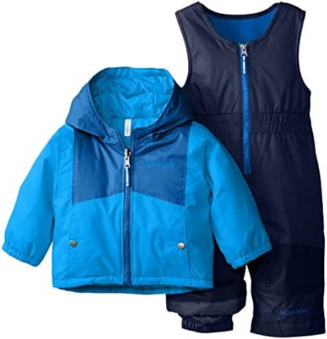 Columbia Baby Boys' Double Flake Reversible Set