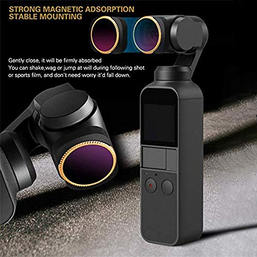 Wikiwand 1PCS Drone Lens FilterSet Camera Filters Kit for OSMO Pocket Camera Lens by Wikiwand (Image #4)