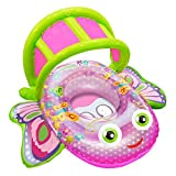 Aqua Leisure Bouncing Butterfly Baby Boat by Aqua Leisure