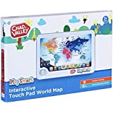 Zanzoon map world interactive amazon toys games new playsmart interactive touch pad world map gumiabroncs Image collections