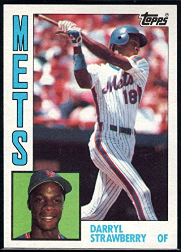 Baseball MLB 1984 Topps #182 Darryl Strawberry RC Mets