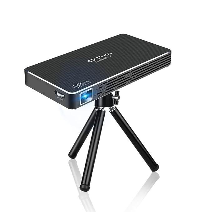11 opinioni per Mini Proiettore, OTHA Portatile Proiettori Wifi Videoproiettore Home Theater,