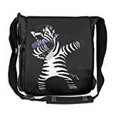 NYYSBU Crossbody Messenger Bag Zebra Hip Hop Shoulder Tote Sling Postman Bags One Size