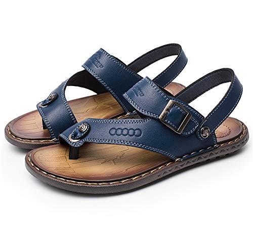 Wagsiyi Scarpe Blu Flip Da Da Colore Da Scarpe flop Spiaggia spiaggia Uomo Dimensione 40 Sandali Uomo EU pantofole Scarpe Blu Parola da Estivi Antiscivolo rOqCr