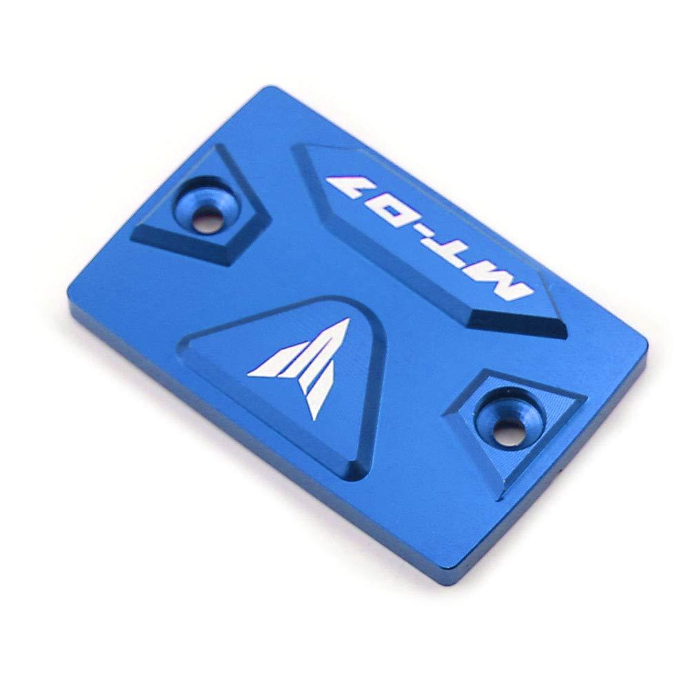 Alpha Rider CNC Brake Fluid Reservoir Cap Cover Compatible Yamaha MT07 2014 2015 Blue