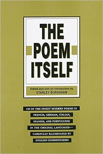 Book The Poem Itself by Stanley Burnshaw (1995-07-01)