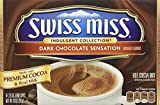 swiss miss dark hot chocolate - Swiss Miss Indulgent Collection Dark Chocolate Sensation 8 - 1.25 oz envelopes
